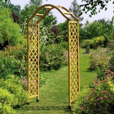 Gardman Elegance Wooden Arch In Tan