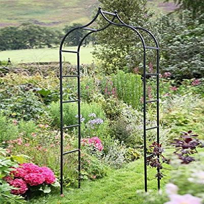 English Garden Arches Tom Chambers Baroque Steel Garden Arch