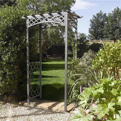 Rowlinson Wrenbury Metal Garden Arch