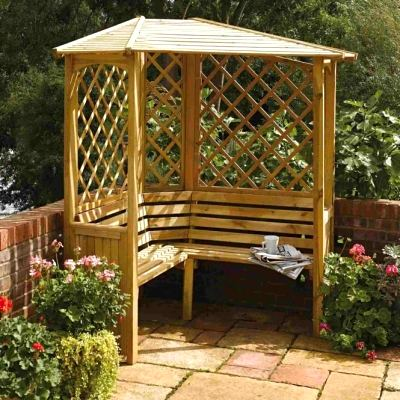 Rowlinson Balmoral Wooden Arbour
