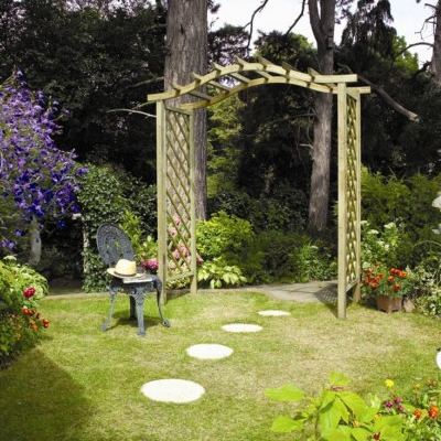 English Garden Arches Wooden Garden Arches