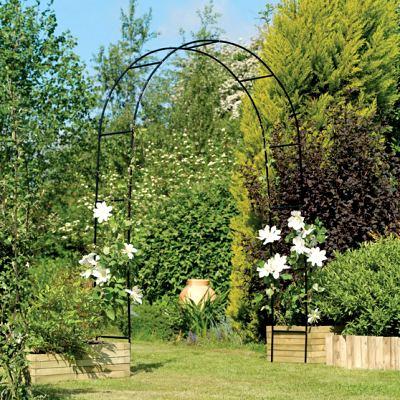English garden arches all garden arches for Ferronnerie jardin decoration